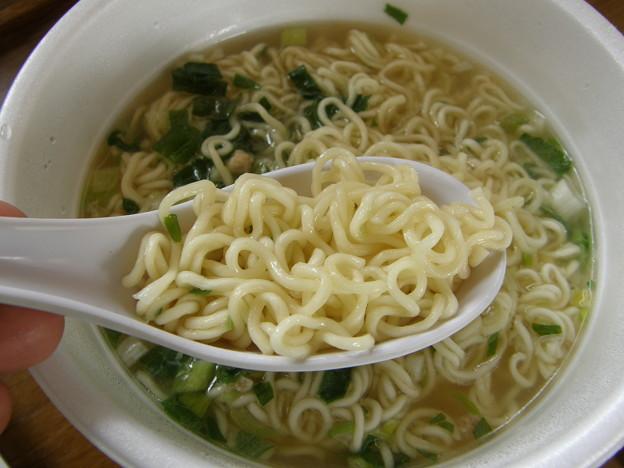 塩中華そば・・・麺