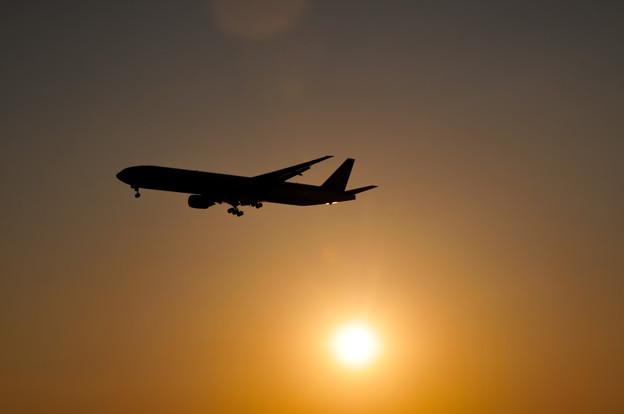 飛行機(羽田、城南島)