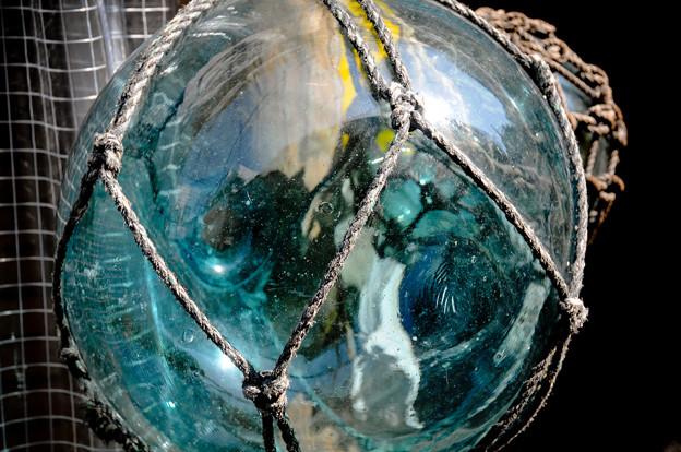 ガラス球(浮き)