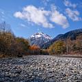 焼岳の冠雪