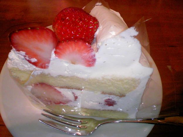 写真: イタリアントマト いちごのショートケーキ