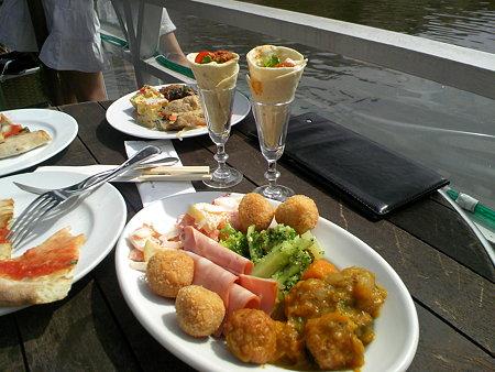 神楽坂 Canal Cafe(カナル・カフェ) ランチビュッフェ
