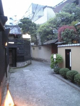 神楽坂横道
