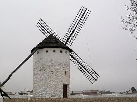 2009.01.17 スペイン ラ・マンチャ地方 風車