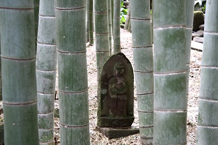 2009.03.07 報国寺 石仏