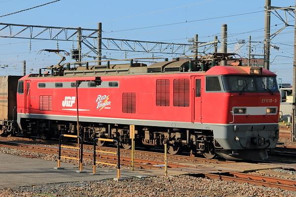 EF510-3 酒田駅