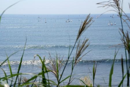 水色の海・・・