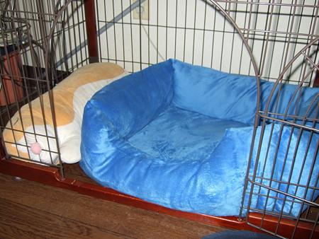 悟天のベッド