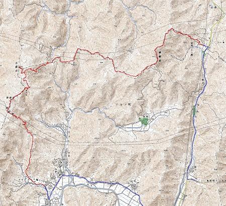 20080614高島トレイル(マキノ-国境)4万分の1