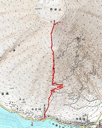 20071007男体山ハイキング