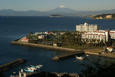 今朝の富士山1122a