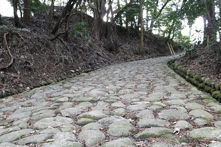 金谷坂の石畳(島田市) - 3