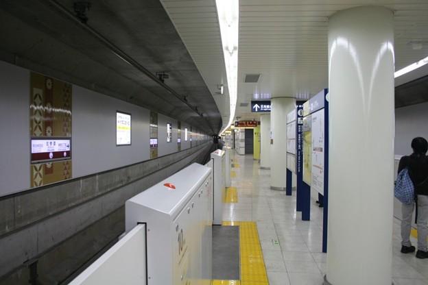 写真: 東京メトロ副都心線北参道駅