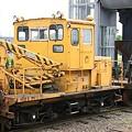 写真: 常総線の保線用車両(2両目)