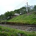 写真: 篠ノ井線・姨捨駅周辺