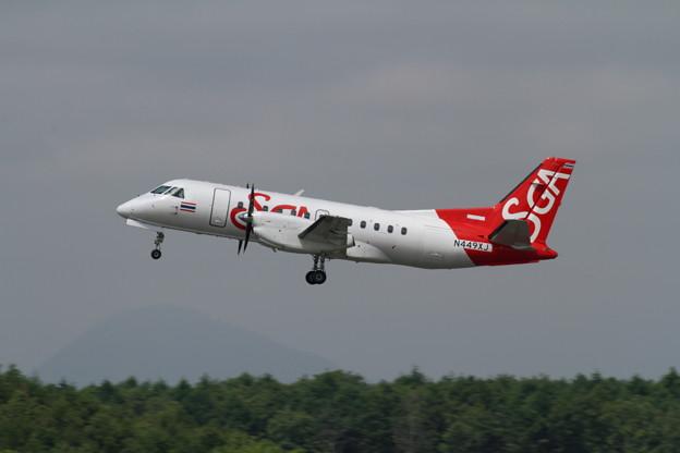 SAAB340B N449XJ Ferry Flight
