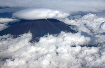 富士さんの傘