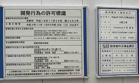京都駅南開発計画 看板1-200720-5