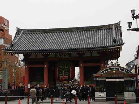 浅草寺 参詣-210213-1