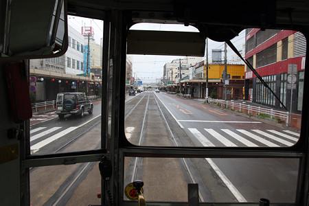 函館市電(函館駅前から松風町へ)