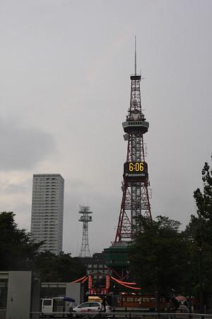 札幌・大通公園のTV塔