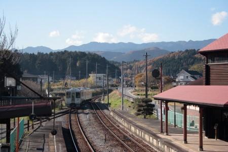明覚駅(キハ111)