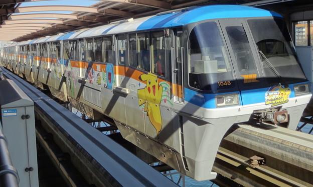 東京モノレール羽田空港線1000形(東京大賞典当日)