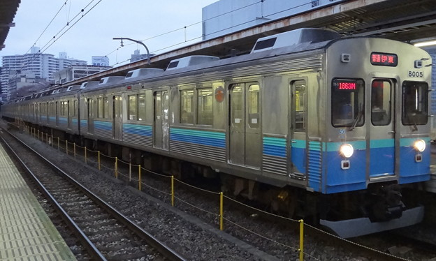 Photos: 伊豆急行8000系によるJR東日本伊東線内完結列車