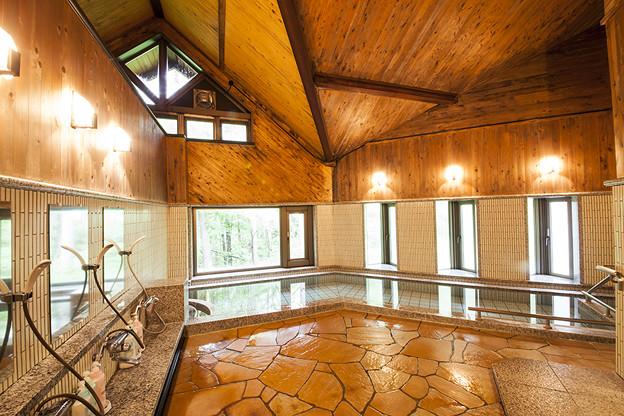 内の山温泉浴室