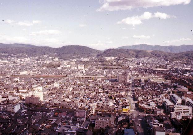 京都タワーからの眺望(40年前)-6