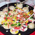Photos: ちらし寿司状態のたこ焼き