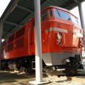 Photos: 93 DD54型ディーゼル機関車、外国製のエンジンを積んでおり、保守が大変だったという