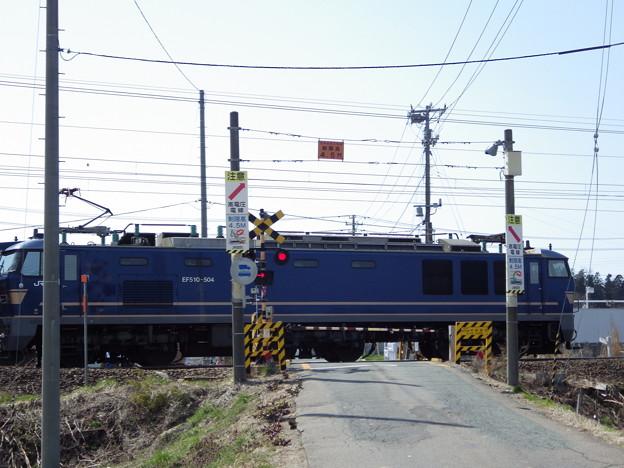 EF510‐504 釜メインに 列番不明