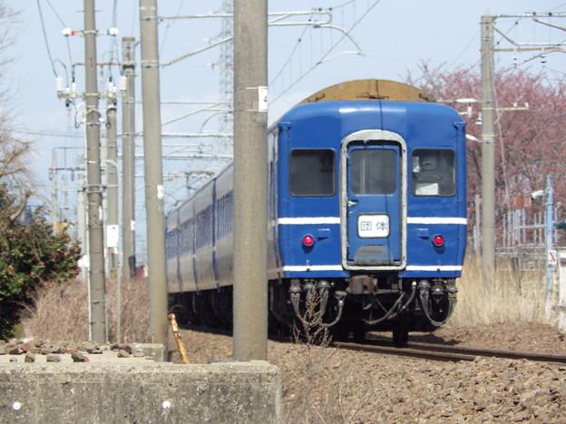 『奥羽本線下り』EF81‐137牽引24系 天理臨 後追い