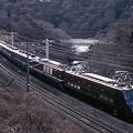 Photos: EF55+EF64+12系(上越線)(2008年12月撮影)