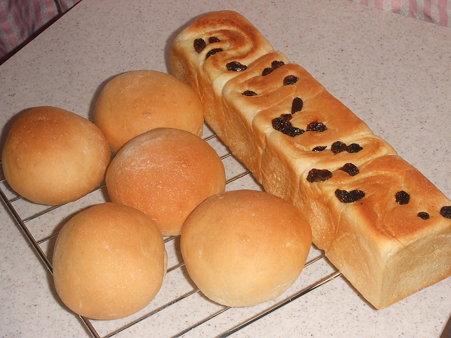 1斤分のパン生地で・・・