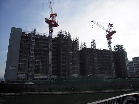 建設中のリバーフェイス(River Face)(2008/7)