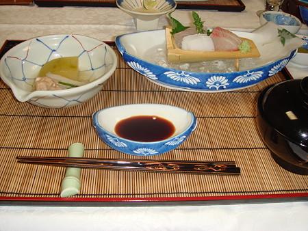 雲仙宮崎旅館の夕食(2)