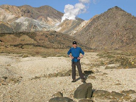 硫黄山と自分