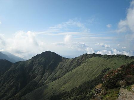 石鎚山山頂からの眺望1