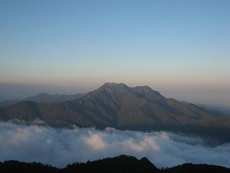石鎚山と雲海