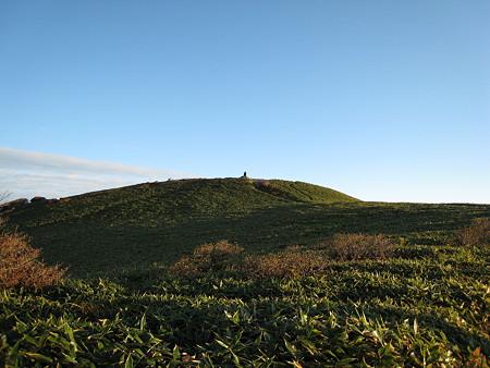 笹原の瓶ケ森女山山頂付近