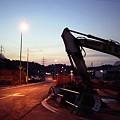 写真: 工事中