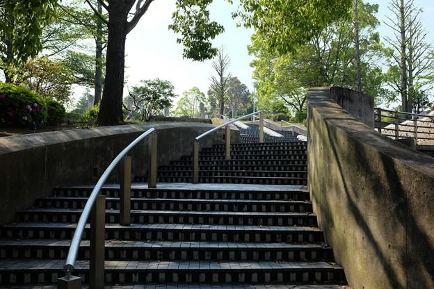 山下公園の階段