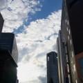 写真: 新宿の空