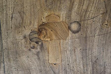 西福寺の廊下の床